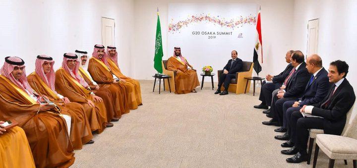 لقاء بين السيسي وبن سلمان على هامش قمة العشرين