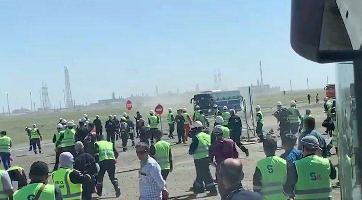 الخارجية: المهندسين والعاملين الفلسطينيين في كازاخستان بخير