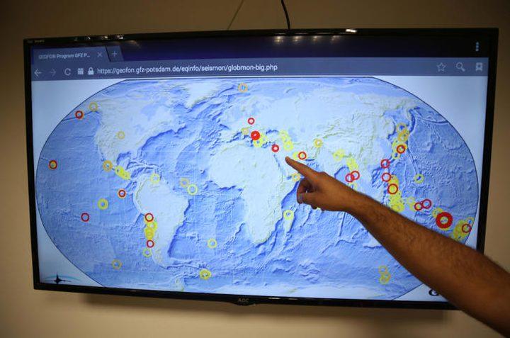 رصد زلزال خفيف شمال رام الله