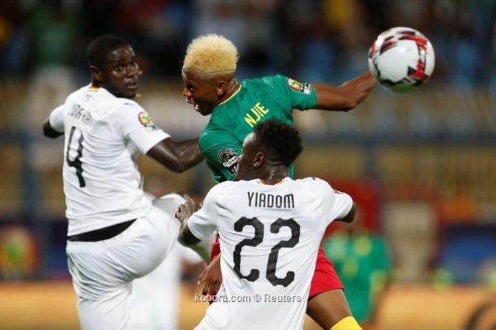 تعادل باهت بين الكاميرون وغانا بأمم إفريقيا