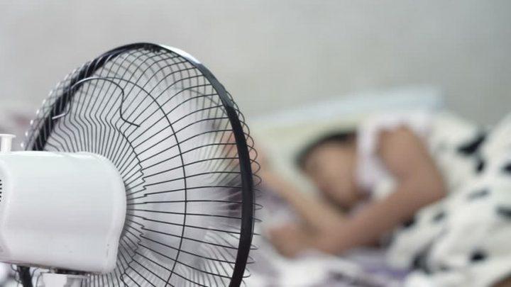 تحذير من تشغيل المروحة أثناء النوم..؟!