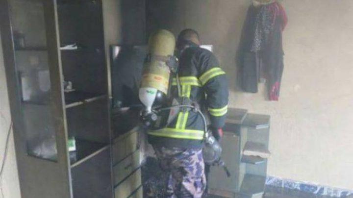 3 إصابات بحريق داخل منزل جنوب نابلس