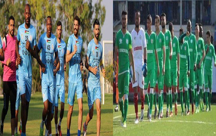 خدمات رفح يتعادل مع بلاطة في ذهاب نهائي كأس فلسطين