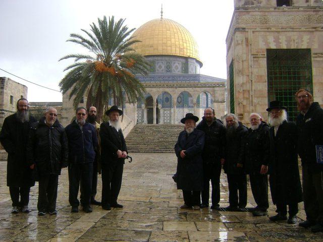 """تبرعات يهودية لبناء """"الهيكل المزعوم"""" بالأقصى"""