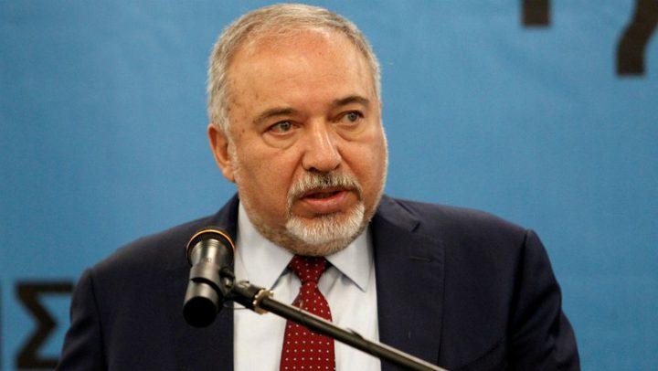 ليبرمان يهاجم اتفاق التهدئة مع حركة حماس