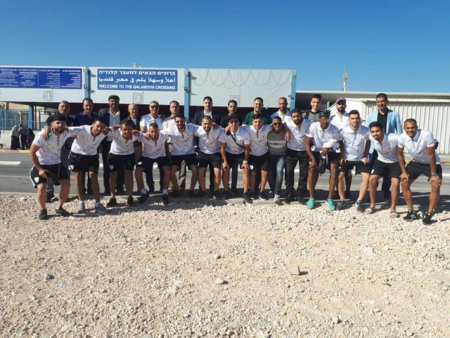 مركز شباب بلاطة يلعب في غزة دون حارس المرمى ومدرب الفريق