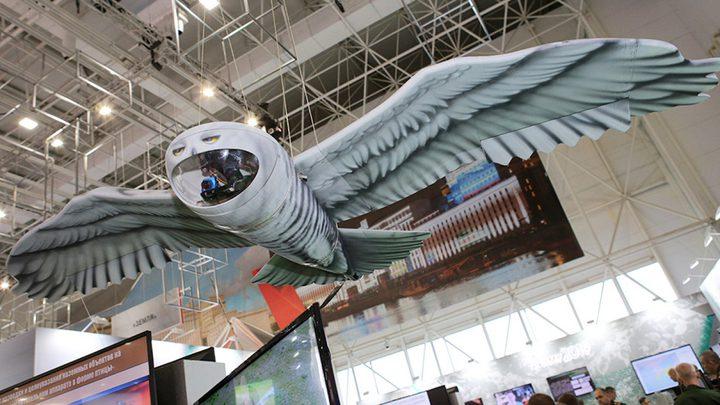 """طائرة تجسّس روسيّة جديدة تشبه """"البومة"""""""