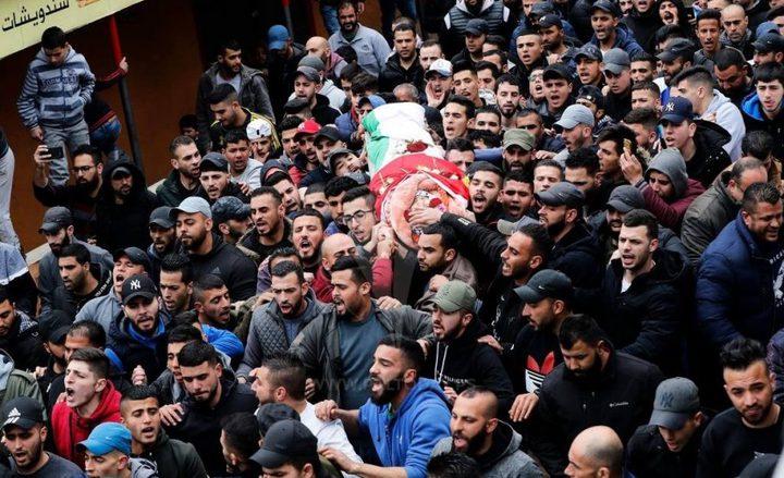 84 شهيدا برصاص الاحتلال في النصف الأول من 2019
