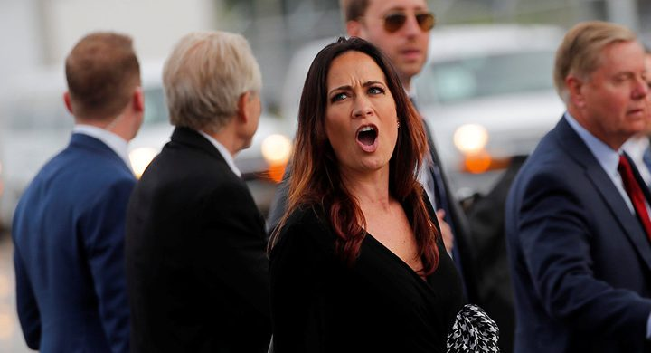 المتحدثة باسم البيت الأبيض تصاب بكدمات إثر شجار مع مسؤولين كوريين