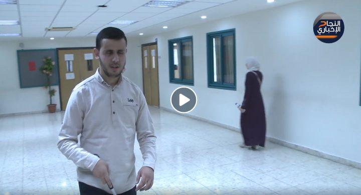 الطالب محمد أبو حلوان يحارب إعاقته البصرية بنور العلم والمعرفة