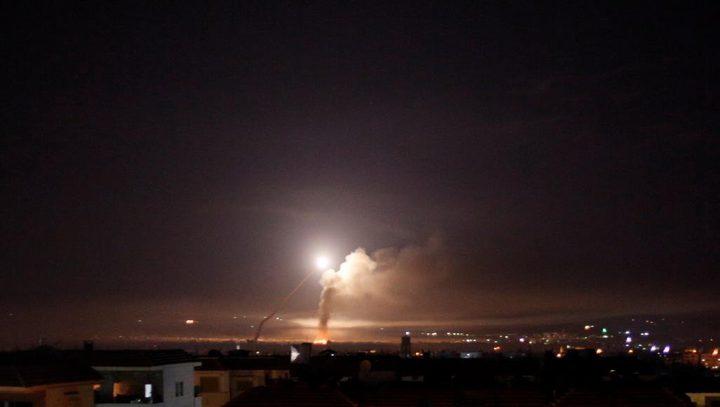 الاحتلال يكشف ما استهدفه في سوريا