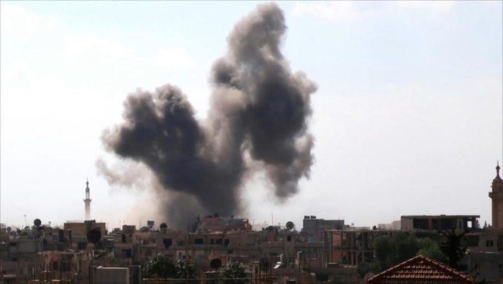 4 شهداء نتيجة القصف الإسرائيلي على ريف دمشق