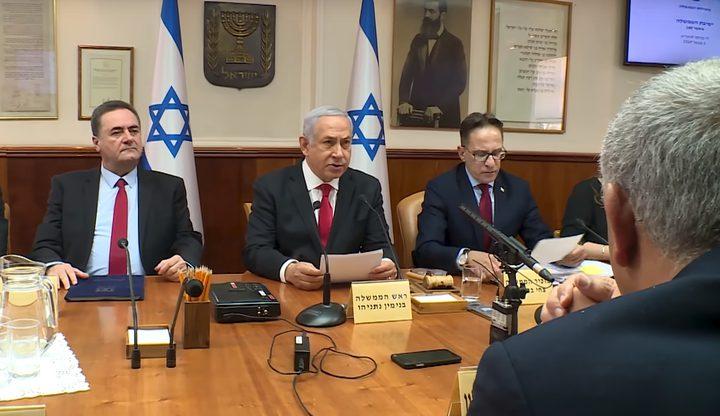 الكابينت الإسرائيلي يجتمع غداً بشأن غزة وإيران