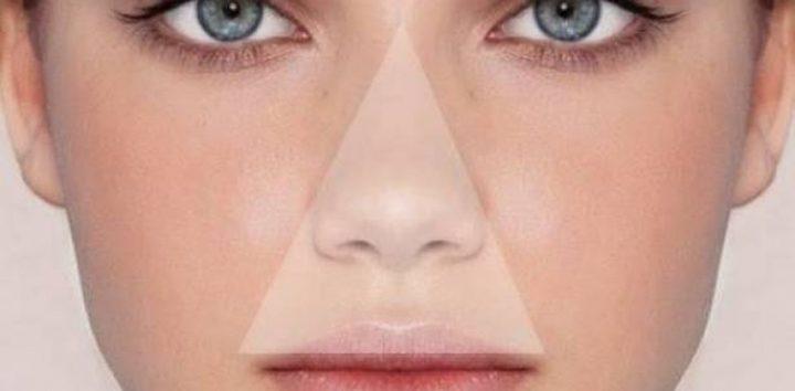 ما هو مثلث الموت في الوجه ؟