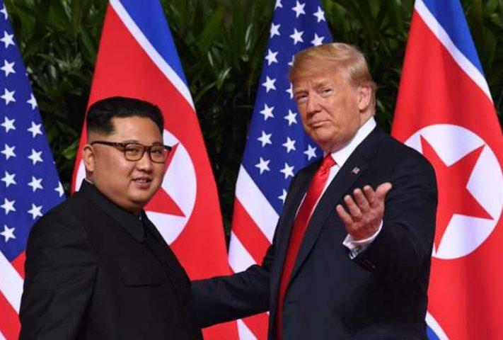 ترامب: أتطلع للقاء قريب مع كيم جونغ أون