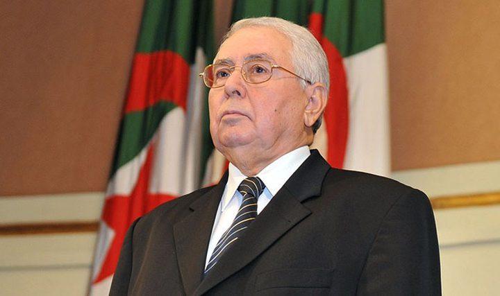 الرئيس الجزائري المؤقت: الدولة مصممة على المضي في تطهير الفساد