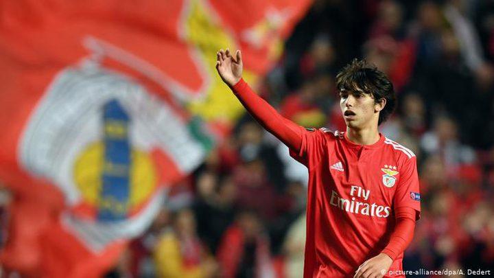 رسمياً .. أتلتيكو مدريد يعلن انضمام جواو فيلكس
