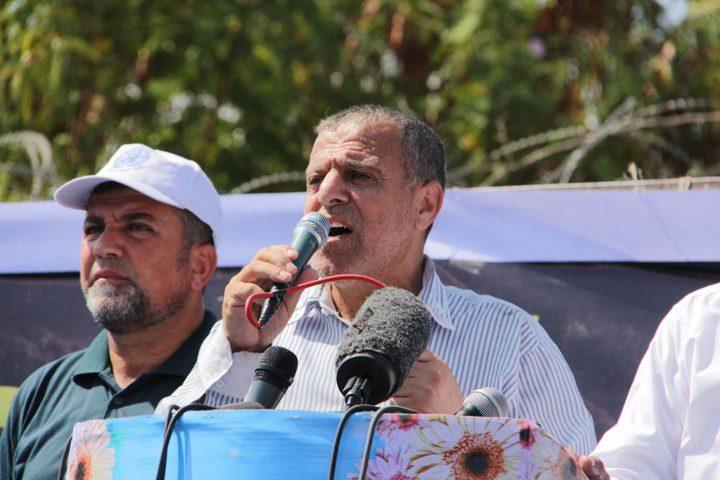 حماس: الوفد المصري أجّل زيارته لغزة