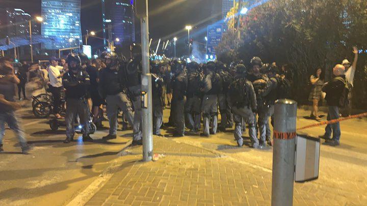 الشرطة الاسرائيلية تتوعد باستخدام القوة والعنف لقمع الاثيوبيين