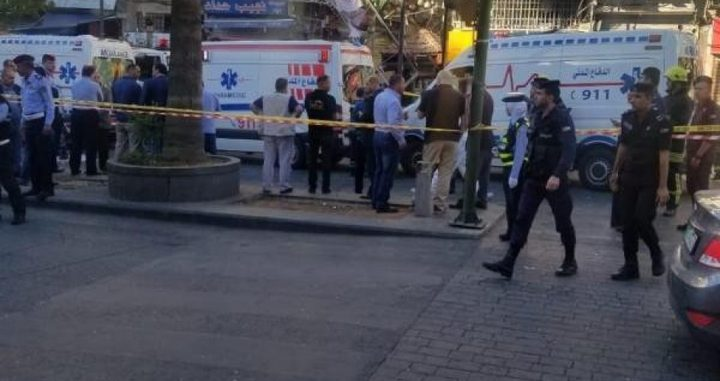 قتيلان في عمّان إثر انفجار عنيف