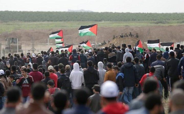 غزة.. دعوات جماهيرية للمشاركة في مسيرات العودة غداً