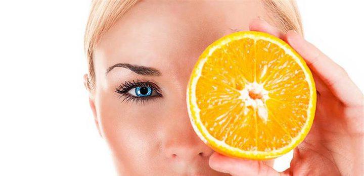 البرتقال لتخفي عيوب بشرتكِ