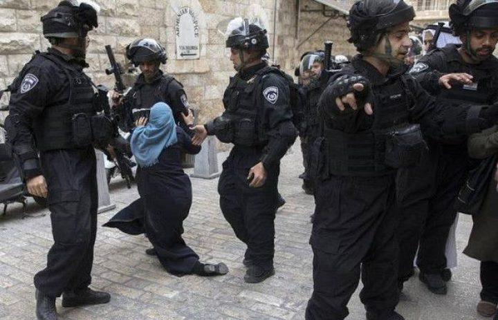 القدس: اعتقال سيدة للضغط على طفلها لتسليم نفسه