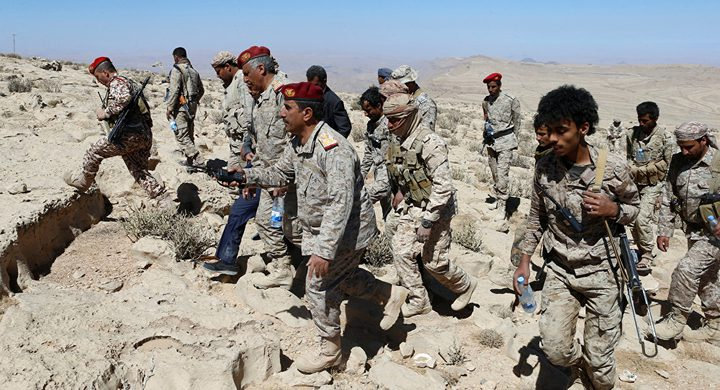 """الجيش اليمني يستعيد مرتفعات من """"أنصار الله"""" غرب صعدة"""