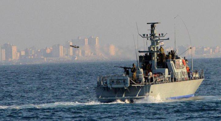 الزوارق الاسرائيلية تطلق النار تجاه مراكب الصيادين في بحر رفح
