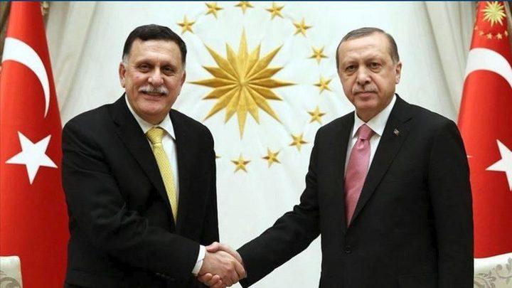 أردوغان يستقبل السراج في اسطنبول ويبحثان الوضع الليبي