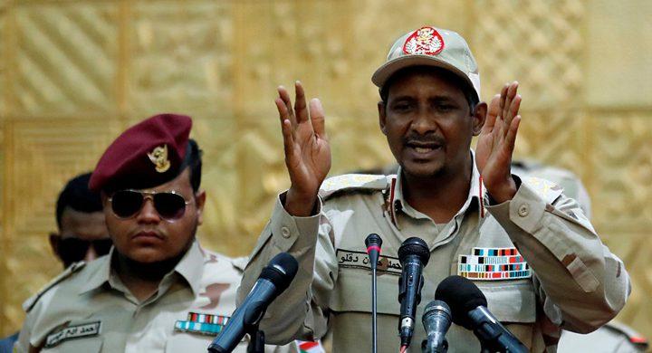 حميدتي: نسعى لإقامة دولة القانون لبدء مرحلة جديدة في السودان