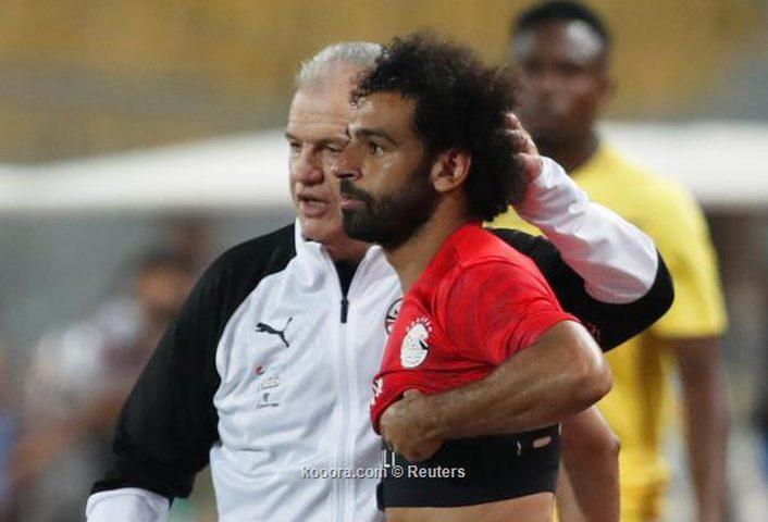 مدرب مصر يكشف هدف صلاح