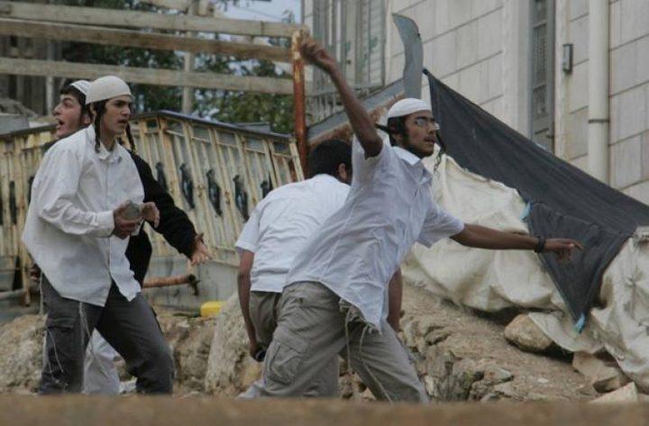 مستوطنون يرشقون منازل المواطنين بالحجارة