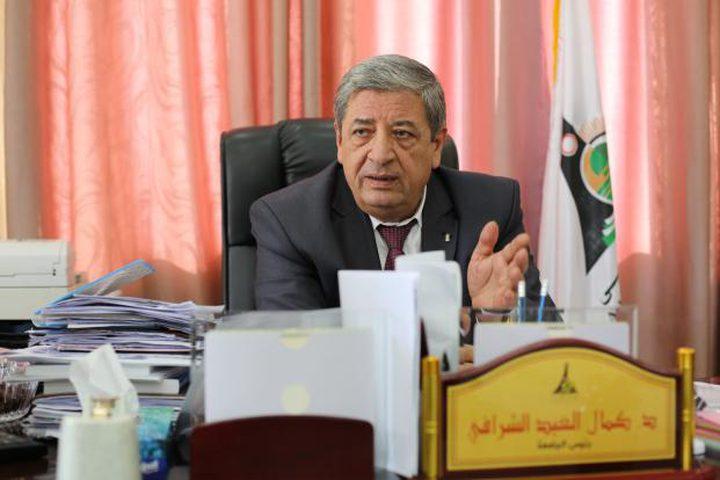 الشرافي ينفي إقالته من رئاسة جامعة الأقصى بغزة