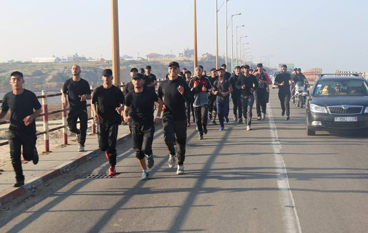 رام الله:الاتحاد الرياضي والشرطة ينظمان ماراثوناً رياضياً