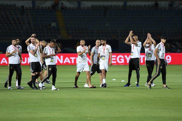 الجزائر تمر لربع النهائي بعرض مبهر