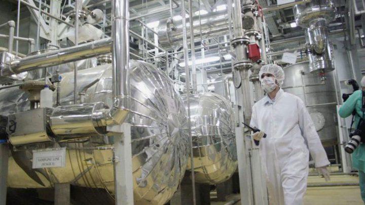 إيران تعلن رفع مستوى تخصيب اليورانيوم إلى 5%