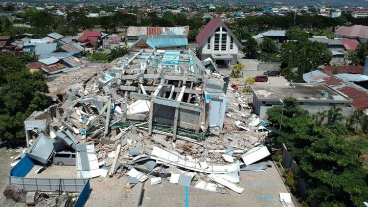 وسط تحذيرات من وقوع تسونامي..زلزال يضرب أندونيسيا بقوة 7.1
