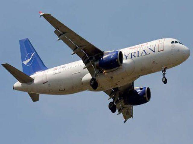 سوريا ترفع رسوم عبور الطيران المدني أجواءها