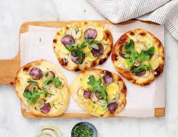 طريقة عمل بيتزا البطاطس