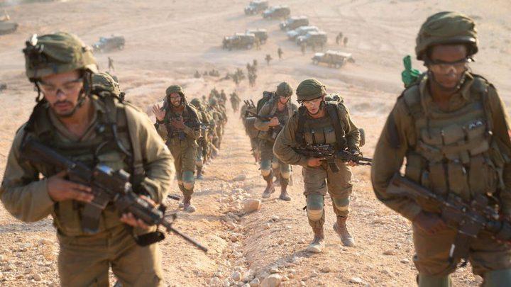 الاحتلال يجري تدريباً ليلياً بغلاف غزة