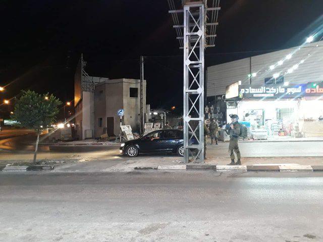 عمليات تفتيش واستنفار اسرائيلي مكثف بالقرب من نابلس