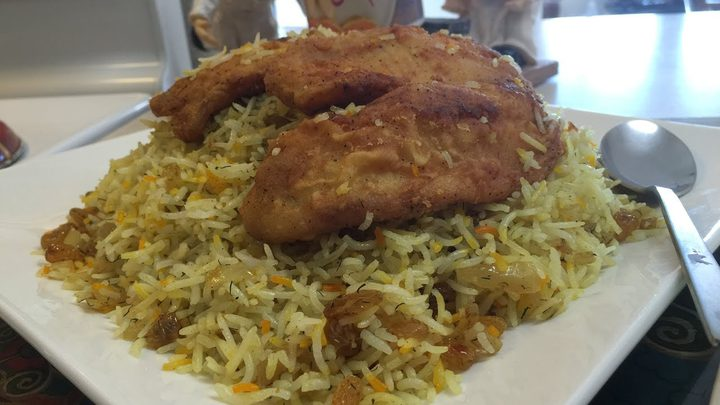 مطبق سمك الهامور على الطريقة الخليجية