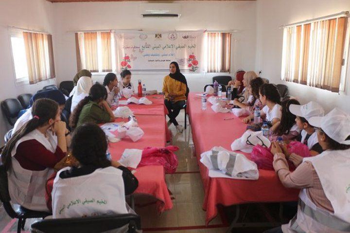 وزارة الاعلام تنفذ مخيم الصحافيات الصغيرات