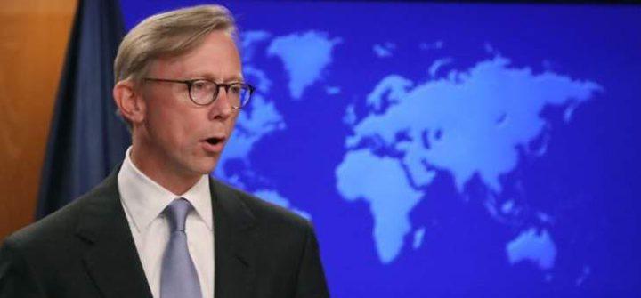 هوك: لا توجد قناة خلفية للتفاوض مع إيران