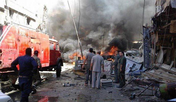 سوريا: تفجير ارهابي بجانب كنيسة العذراء يوقع اصابات