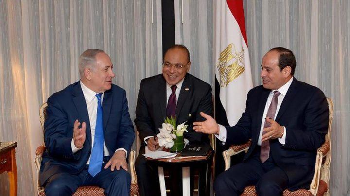 نتنياهو يشارك في حفل اليوم الوطني المصري