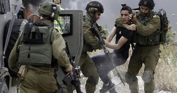 طولكرم : الاحتلال يختطف شاباً من مخيم نور شمس