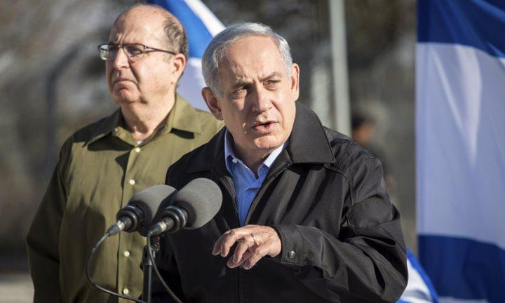 """يعلون: """"نتنياهو يحاول إلصاق تهم الفساد بي لإنقاذ نفسه"""""""