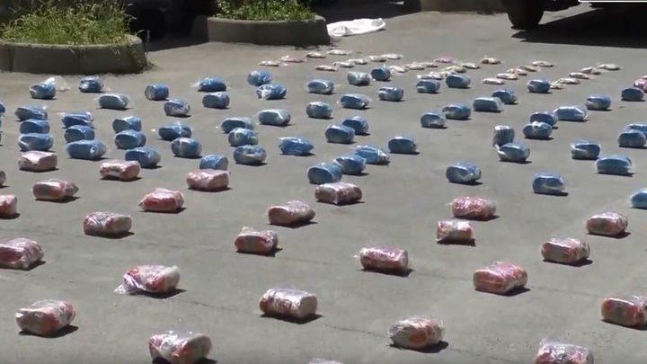ضبط كمية كبيرة من المخدرات جنوب دمشق